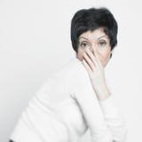 ηλικίας όμορφη μέση γυναίκ&alp Στοκ εικόνες με δικαίωμα ελεύθερης χρήσης