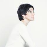 ηλικίας όμορφη μέση γυναίκ&alp Στοκ φωτογραφία με δικαίωμα ελεύθερης χρήσης