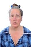 Ηλικίας Middled γυναίκα στην εσθήτα Στοκ Εικόνα