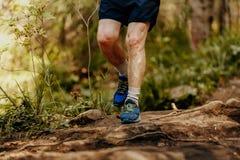 Ηλικιωμένα πόδια ατόμων Στοκ Εικόνες