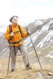 Ηλικιωμένες γυναίκες στο βουνό Στοκ φωτογραφία με δικαίωμα ελεύθερης χρήσης