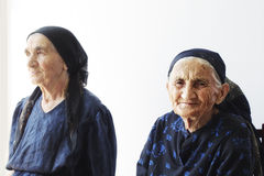 ηλικιωμένες γυναίκες Στοκ Φωτογραφίες