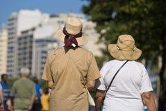ηλικιωμένες δύο γυναίκες στοκ εικόνα με δικαίωμα ελεύθερης χρήσης