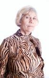 ηλικιωμένη απομονωμένη γυναίκα πορτρέτου s Στοκ εικόνα με δικαίωμα ελεύθερης χρήσης