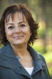 ηλικιωμένη γυναίκα πάρκων Στοκ Εικόνες