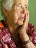 ηλικιωμένη γυναίκα Στοκ εικόνες με δικαίωμα ελεύθερης χρήσης