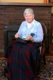 ηλικιωμένη γυναικεία συ&n στοκ φωτογραφίες