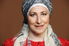 Ηλικιωμένη εγγενής γυναίκα Στοκ εικόνες με δικαίωμα ελεύθερης χρήσης