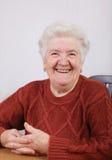 Ηλικιωμένη κυρία στοκ εικόνες