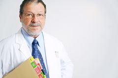 ηλικιωμένοι γιατρών Στοκ εικόνες με δικαίωμα ελεύθερης χρήσης