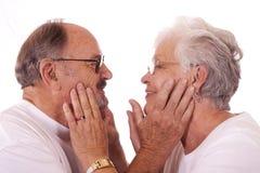 ηλικιωμένοι ζευγών Στοκ Φωτογραφίες