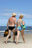ηλικιωμένοι ζευγών Στοκ εικόνες με δικαίωμα ελεύθερης χρήσης