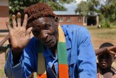 ηλικιωμένοι της Αφρικής Στοκ Φωτογραφία
