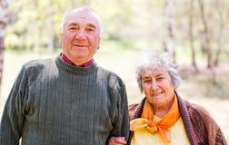 ηλικιωμένος ευτυχής ζε&u στοκ φωτογραφίες