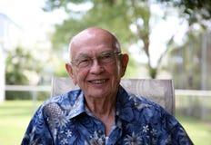 ηλικιωμένος κύριος Στοκ Φωτογραφίες