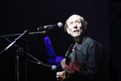 ηλικιωμένος μουσικός Στοκ Φωτογραφίες