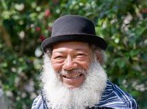 ηλικιωμένο άτομο αφροαμ&epsil Στοκ Φωτογραφία
