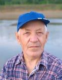 ηλικιωμένο άτομο ΚΑΠ Στοκ Εικόνες