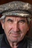 ηλικιωμένο άτομο ΚΑΠ Στοκ Φωτογραφία