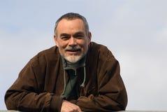ηλικιωμένο άτομο σακακιών στοκ εικόνα με δικαίωμα ελεύθερης χρήσης