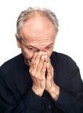 Ηλικιωμένο άτομο Στοκ εικόνες με δικαίωμα ελεύθερης χρήσης