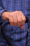 ηλικιωμένο άτομο s χεριών κ&al Στοκ φωτογραφίες με δικαίωμα ελεύθερης χρήσης