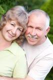 Ηλικιωμένο ζεύγος ερωτευμένο στοκ φωτογραφία με δικαίωμα ελεύθερης χρήσης
