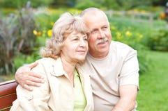 Ηλικιωμένο ζεύγος Στοκ Φωτογραφίες