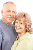 Ηλικιωμένο ζεύγος στοκ εικόνα