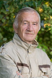 ηλικιωμένο πορτρέτο ατόμων Στοκ εικόνα με δικαίωμα ελεύθερης χρήσης