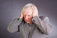 ηλικιωμένο συναισθηματ&iot στοκ εικόνες με δικαίωμα ελεύθερης χρήσης