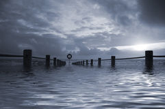ηλιοβασίλεμα αντανάκλασης Στοκ εικόνα με δικαίωμα ελεύθερης χρήσης