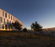 ηλιοβασίλεμα αρχιτεκτ&om Στοκ φωτογραφία με δικαίωμα ελεύθερης χρήσης