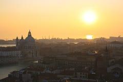 ηλιοβασίλεμα Βενετία Στοκ Φωτογραφίες