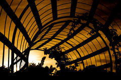 ηλιοβασίλεμα δομών Στοκ φωτογραφία με δικαίωμα ελεύθερης χρήσης