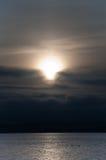 ηλιοβασίλεμα δύο παπιών Στοκ φωτογραφίες με δικαίωμα ελεύθερης χρήσης