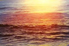 ηλιοβασίλεμα θάλασσας φύσης σύνθεσης Στοκ εικόνες με δικαίωμα ελεύθερης χρήσης