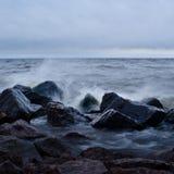ηλιοβασίλεμα θύελλας &be Στοκ εικόνα με δικαίωμα ελεύθερης χρήσης