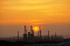 ηλιοβασίλεμα ισχύος φυ& Στοκ εικόνες με δικαίωμα ελεύθερης χρήσης