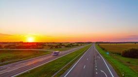 Ηλιοβασίλεμα και εθνική οδός, χρόνος-σφάλμα φιλμ μικρού μήκους
