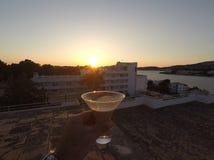 Ηλιοβασίλεμα Μαγιόρκα Bayles Στοκ Εικόνες