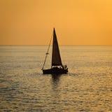 ηλιοβασίλεμα Μεσογείων Στοκ Εικόνα