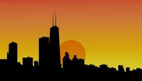 ηλιοβασίλεμα οριζόντων &tau στοκ φωτογραφία με δικαίωμα ελεύθερης χρήσης