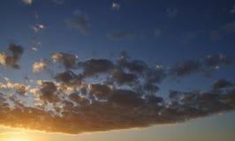 ηλιοβασίλεμα ουρανού Στοκ φωτογραφία με δικαίωμα ελεύθερης χρήσης