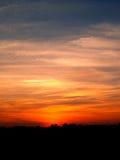 ηλιοβασίλεμα ουρανού 2 Στοκ Φωτογραφίες