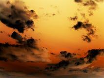 ηλιοβασίλεμα ουρανού στοκ εικόνες