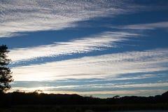 ηλιοβασίλεμα ουρανού &sigma Στοκ φωτογραφία με δικαίωμα ελεύθερης χρήσης