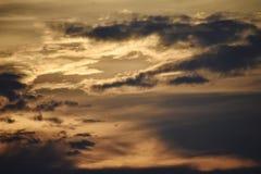 Ηλιοβασίλεμα πέρα από την Αθήνα Στοκ εικόνα με δικαίωμα ελεύθερης χρήσης