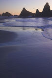 ηλιοβασίλεμα παραλιών Στοκ φωτογραφίες με δικαίωμα ελεύθερης χρήσης