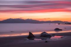 Ηλιοβασίλεμα σε Arran Στοκ Εικόνα